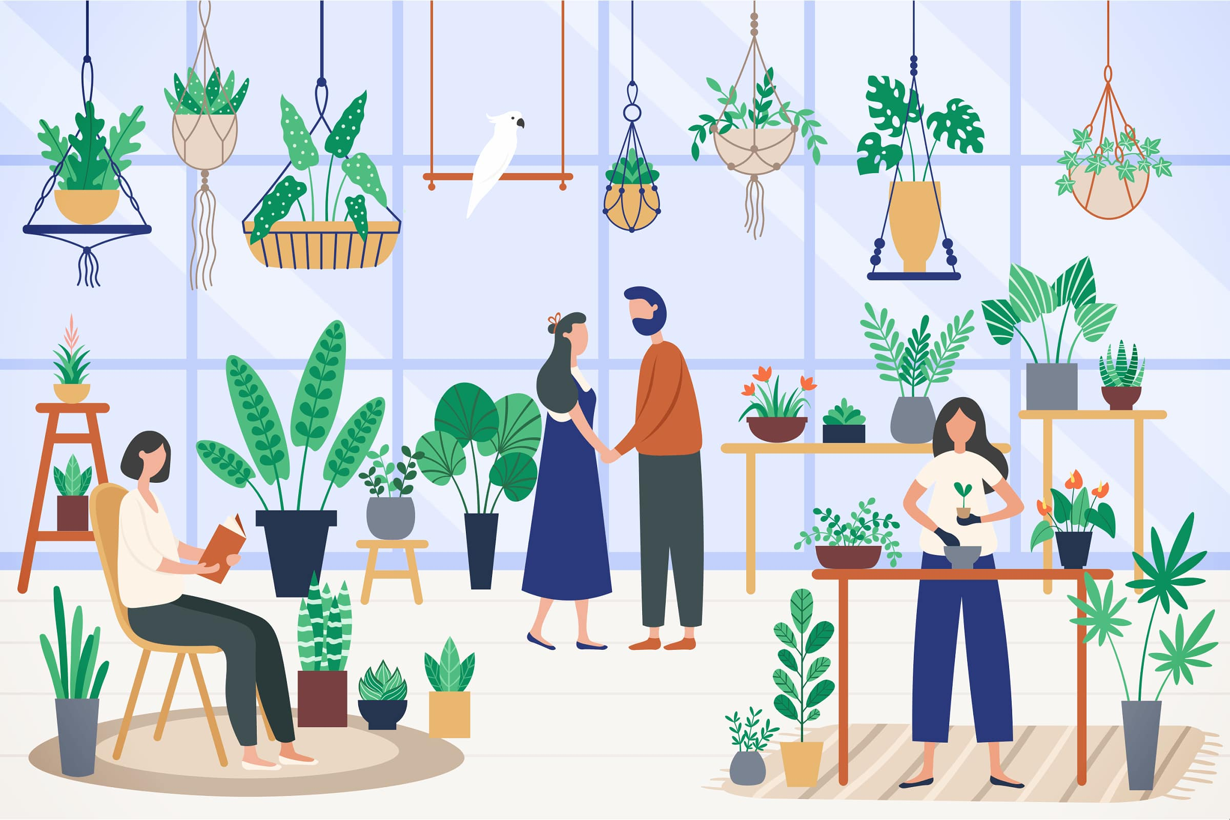 People With Plants